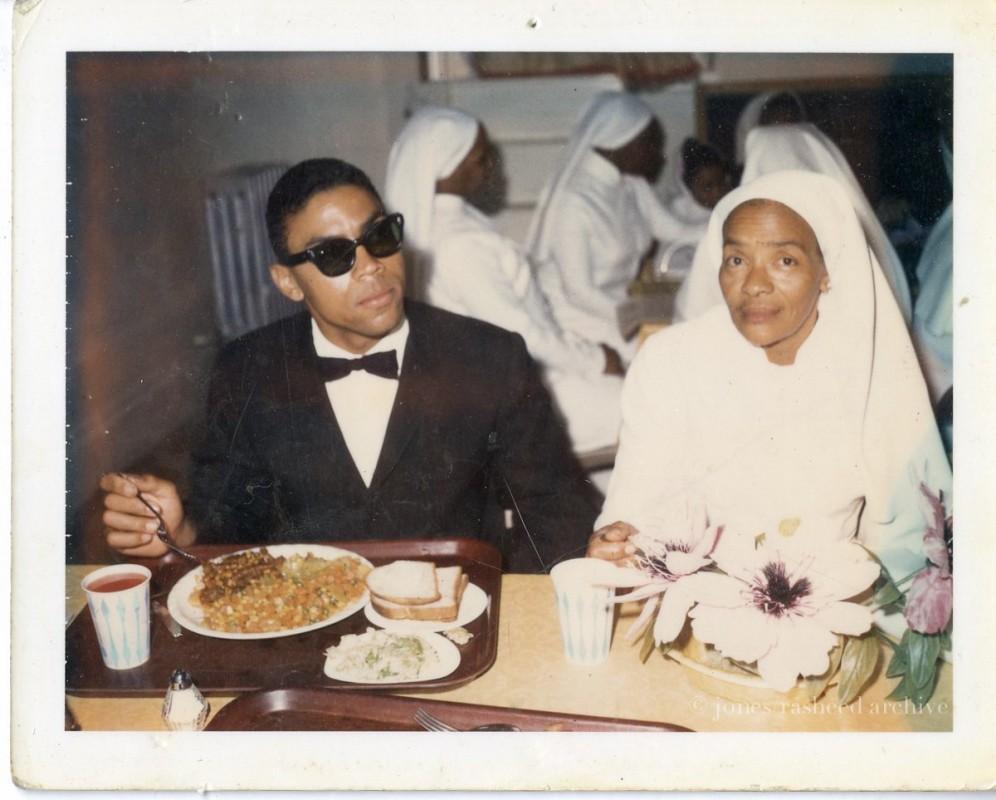 My grandfather, Melvin Jones Jr. and my great-grandmother Beatrice Jones, in San Francisco, CA, circa 1960s, (c) jones|rasheed archive