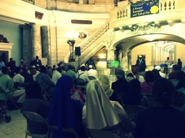 """Mayor Ras Baraka's Iftar at Newark City Hall 2015"" (Photo: Donna Auston)"
