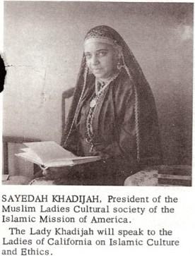 Mother Khadijah