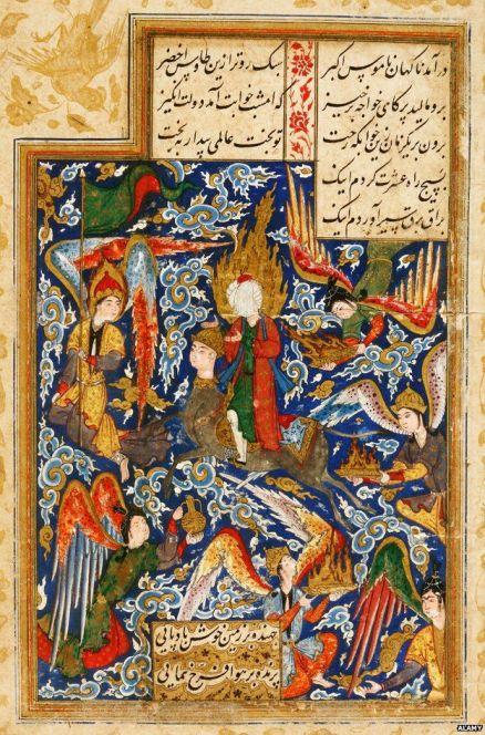 prophet iranian painting